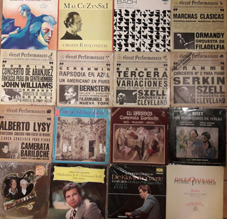 Discos De Vinilo - Música Clásica - Imp, Excelente Estado