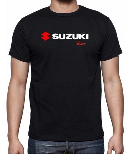 Imagen 1 de 3 de Playera Yazbek Para Caballero Edicion Suzuki Con Tu Nombre