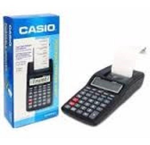 Calculadora Cassio Visor E Fita Hr-8rc A Pilha