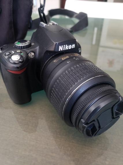 Nikon D40 Con 18-55 . Unicamente 1000 Disparos