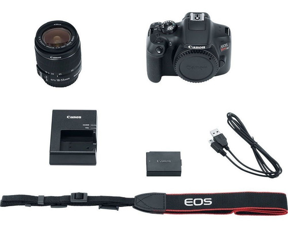 Camera Canon Eos Rebel T6 Kit 18-55mm Stm - 18mp