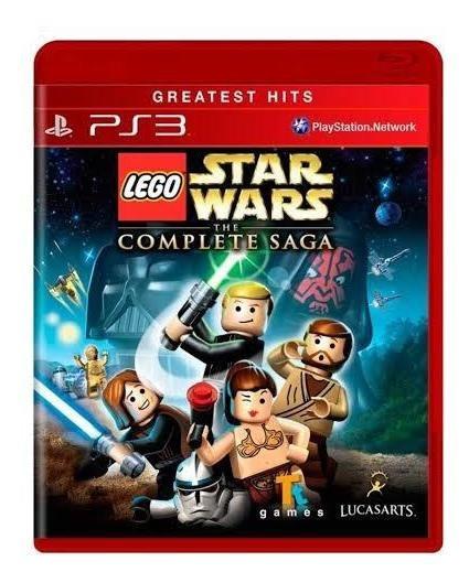 Lego Star Wars - Mídia Física - Jogo Para Crianças Ps3