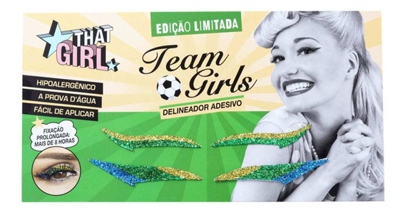 That Girl Team Girls - Delineador Adesivo (2 Pares)