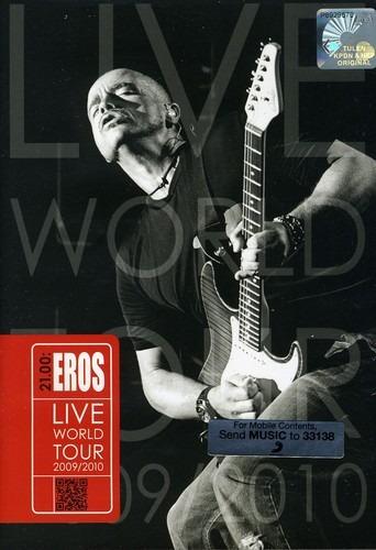 Eros Ramazzotti 21.00 Eros Live World Tour 2009 Dvd Imp