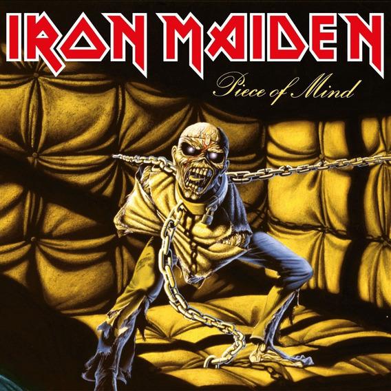 Lp Iron Maiden Piece Of Mind 180g Lacrado Importado Pronta E