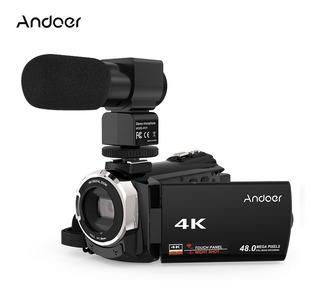C¿mara De Video Digital Andoer 4k 1080p 48mp Wifi