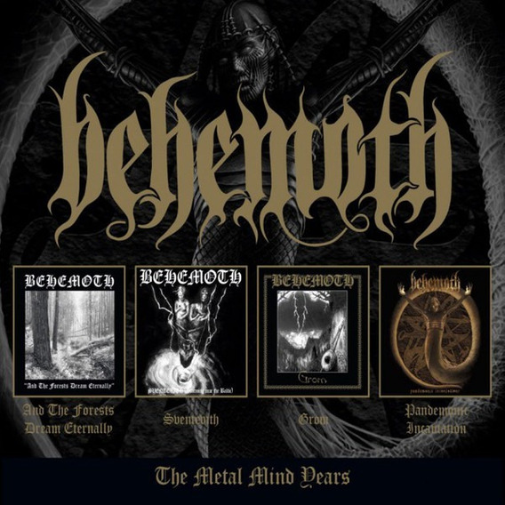 Behemoth - The Metal Mind Years 2018 Box 4xcds Leia Descriç.
