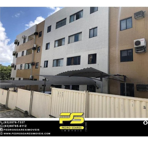 (projetados) Apartamento Com 2 Dormitórios À Venda, 59 M² Por R$ 130.000 - Jardim Cidade Universitária - João Pessoa/pb - Ap4787