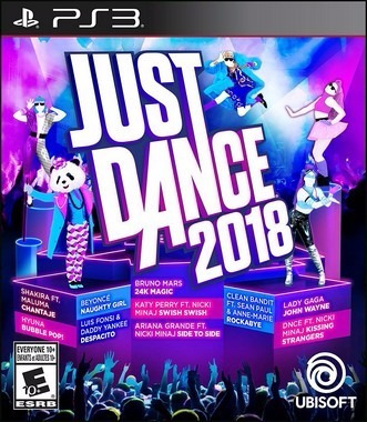Just Dance 2018 - Ps3 - Mídia Física