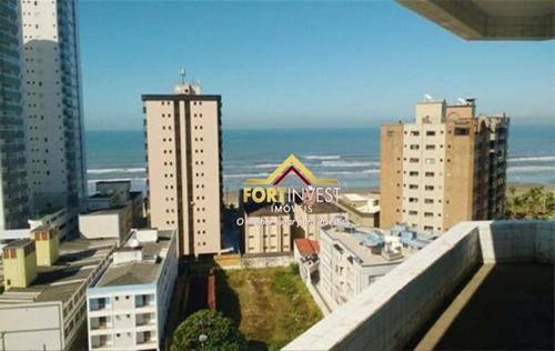 Apartamento Com 1 Dormitório À Venda, 53 M² Por R$ 189.000,00 - Caiçara - Praia Grande/sp - Ap1806