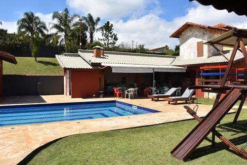 Condomínio Ibiúna 1.750 Mts Casa, Piscina E Campo Futebol !