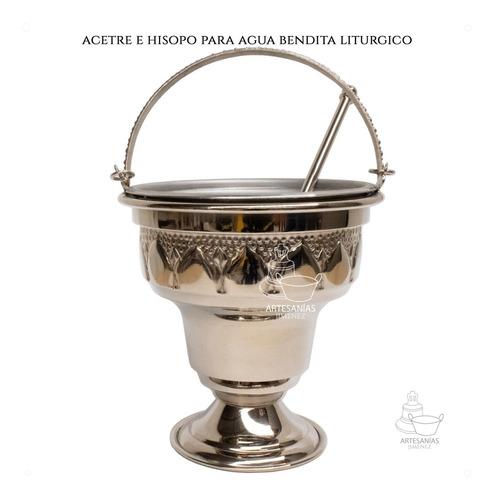 Acetre E Hisopo Para Agua Bendita Religioso A801 Chico