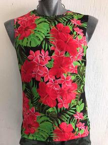 e35f995a8 Camiseta Flores Hombre en Mercado Libre México