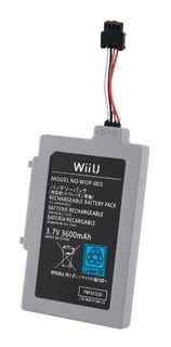 Bateria Consola Nintendo Wii U Gamepad
