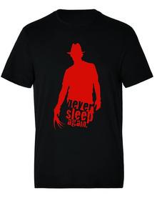 Camiseta Estampada Halloween Freddy