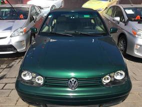 Volkswagen Golf 1.8 Cabrio 5vel Aa Mt