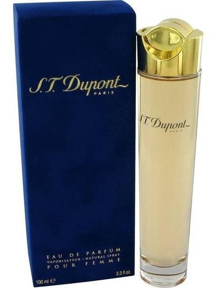 Perfume S.t Dupont Pour Femme Feminino 100ml Edp - Original
