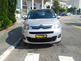 Citroën C3 Picasso 1.6 16v Exclusive Flex 5p 2014 Prata
