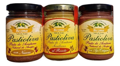 Pack 3 Pastas De Aceituna Bezma Sabores