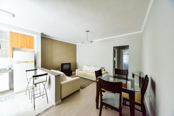 Apartamento No 2º Andar Mobiliado Com 1 Dormitório E 1 Garagem - Id: 892971476 - 271476