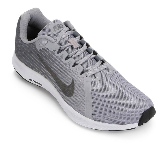 Tenis Nike Masculino Downshifter 8 Cinza/pto