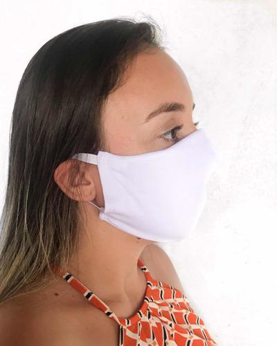10 Máscaras Descartável Dupla Proteção- Com Elástico