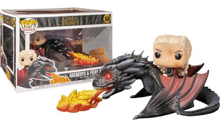 Funko Pop Rides Game Of Thrones Daenerys On Fiery Drogon