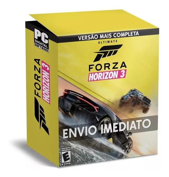 Forza Horizon 3 Pc Português + Bônus 44 Dlcs