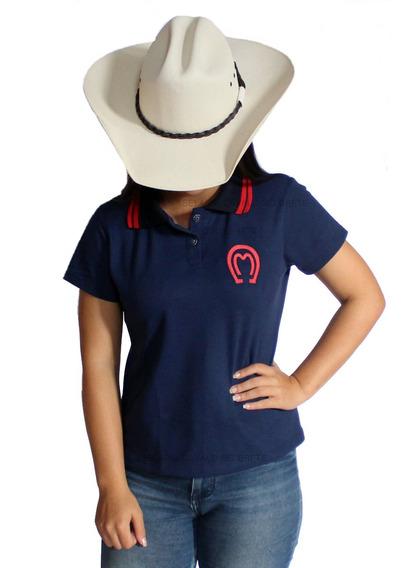 Camisa Feminina Do Mangalarga Marchador Para Peoa Prenda