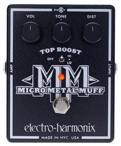 Pedal Ehx Micro Metal Muff Distortion - Electro Harmonix
