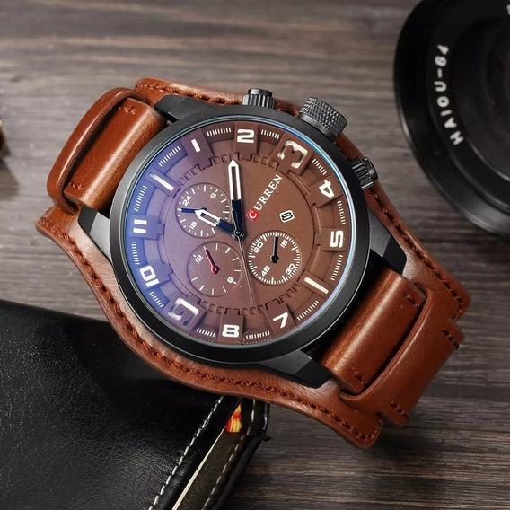 Relógio Curren 8225 Social Esportivo