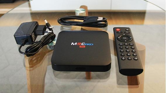 Smart Tv Box M9c Pro 4k 1gb 8gb Ram Android 6.0.1 Quad Core