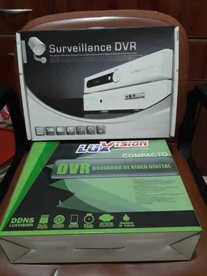 Gravador De Video Digital De 4 E 8 Canais