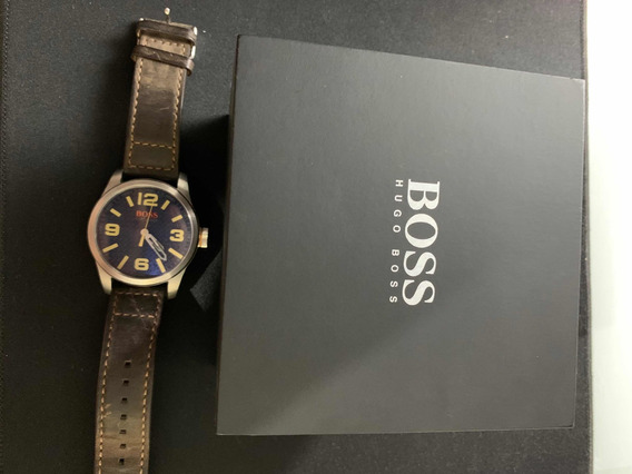 Relógio Hugo Boss Couro Original