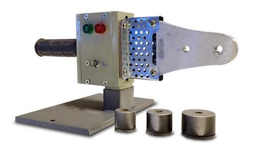 Termofusora 800w 3 Boquillas 20-25-22mm Con Maletín Y Base