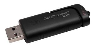 Memoria USB Kingston DataTraveler 104 64GB negro