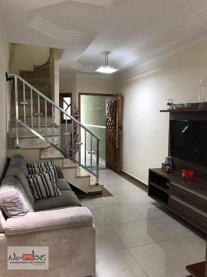 Sobrado Com 3 Dormitórios À Venda, 120 M² Por R$ 495.000 - Penha - São Paulo/sp - So0294