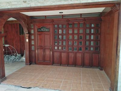 Hermosa Casa C/acabados De Madera