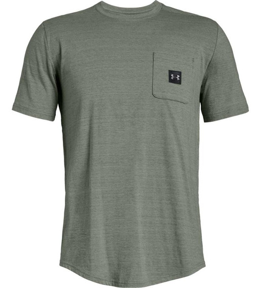 Remera Under Armour Moda Sportstyle Pocket Hombre