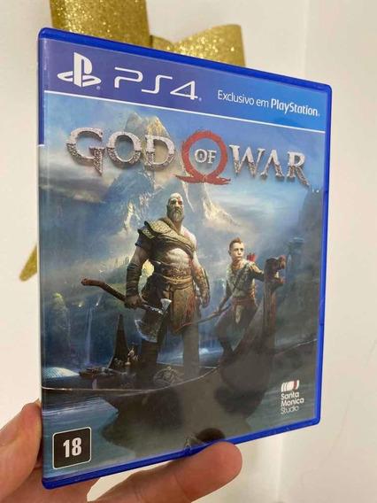 Jogo God Of War 4 Playstation 4 Ps4 Midia Fisica