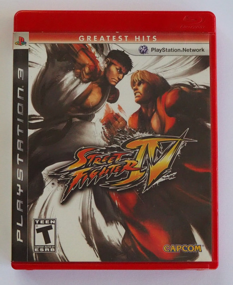 Street Fighter Iv Playstation 3 Ps3 Original Completo