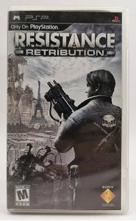 Resistance Retribution Psp Original * R G Gallery
