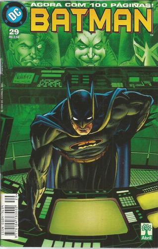 Batman 29 Dc Comics Editora Abril 1999
