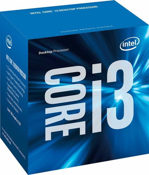 Processador Intel I3 6100 3.7ghz 3mb G.6 Lga 1151 Skylake