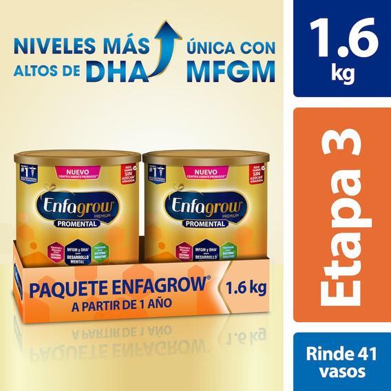 Leche De Crecimiento Enfagrow Etapa 3, 2 Latas De 800 G