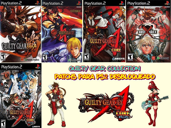 Guilty Gear Collection - Playstation 2
