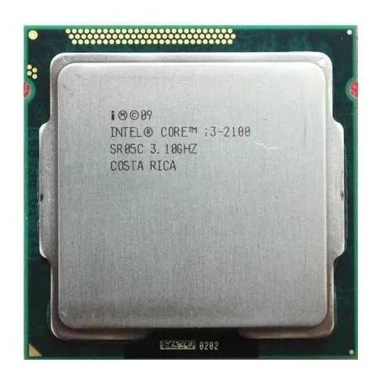 Kit Processador Core I3-2100 3,1ghz + Placa-mãe Ga-h61m