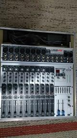 Mesa De Som Loudvox 12 Canais