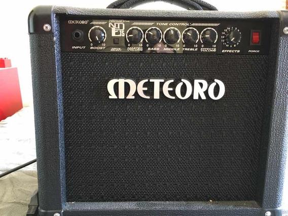 Amplificador Meteoro Para Guitarra Nitrous Drive Nde15