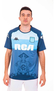 Camiseta Racing Club 2018 Gris Hombre Kappa